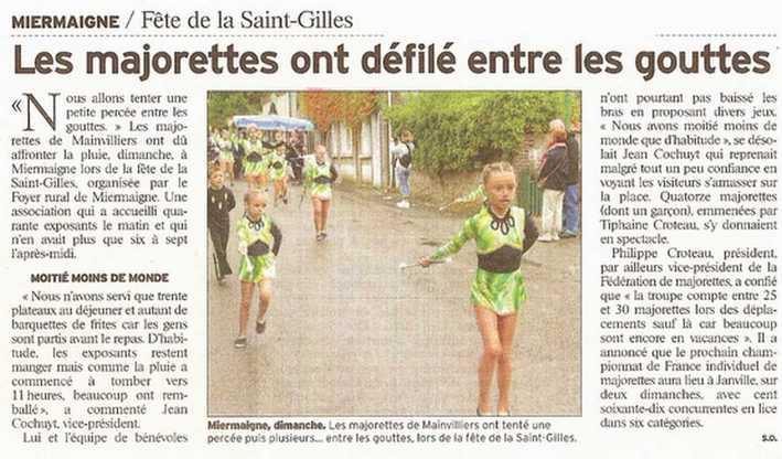 revue de presse 2008 à Miermaigne