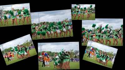 danse des pompons