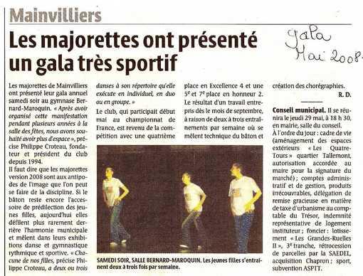 revue de presse 2008 gala
