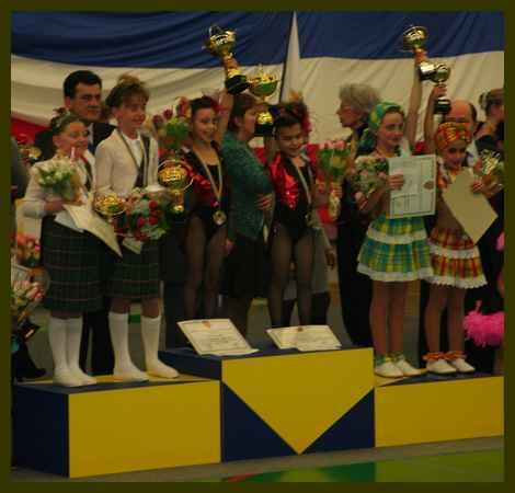 duos oceane et laure 2010 podium