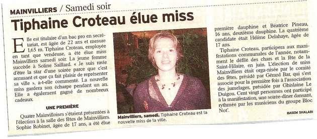 Revue de presse 2007 reine