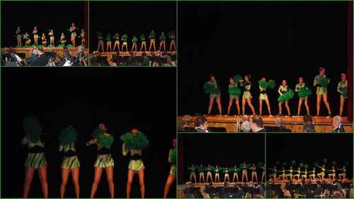 telethon 2009 danse des pompons